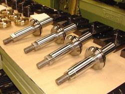 Precision machine processing for round part