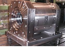 Precision machine processing for angular parts