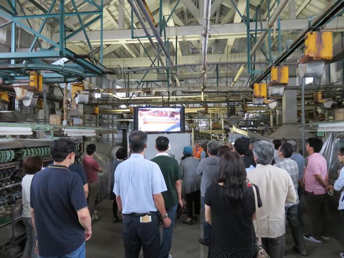 富岡製糸工場の見学